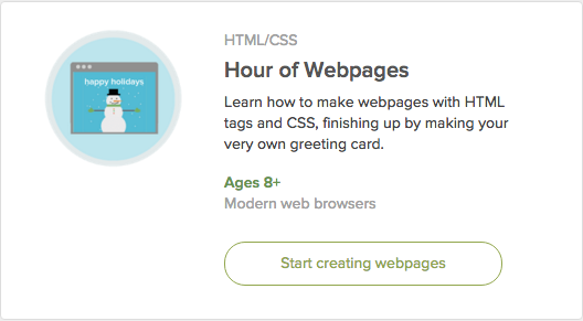 Hour of Webpages - Khan Academy
