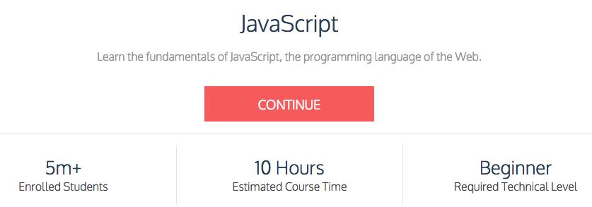 JavaScript Codecademy
